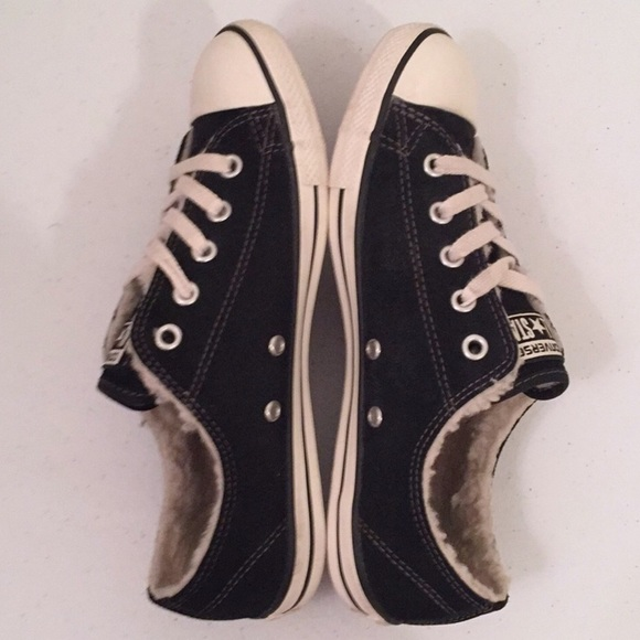 ece2a1065f4b Converse Shoes - CONVERSE ALL⭐️STAR🐑 Sheepskin   Suede Low Tops
